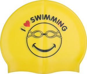 Czepek pływacki Printing Cap 4Swim (żółty) - 2846901273