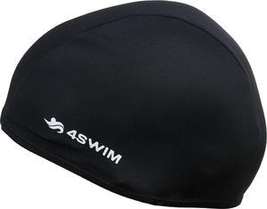 Czepek pływacki Fabric Cap 4Swim (czarny) - 2846901278
