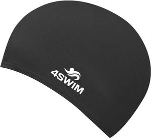 Czepek pływacki Fabric Cap JNR 4Swim (czarny) - 2846901280