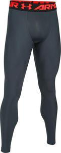 Spodnie męskie legginsy HeatGear Under Armour (grafitowe) / GWARANCJA 24 MSC. / Tanie RATY - 2847430721