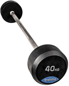 Sztanga Rubber Gym Deluxe Barbell 40kg Training ShowRoom / Tanie RATY - 2847155849