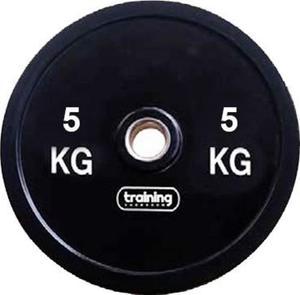 Obciążenie olimpijskie bumperowe 5kg Training ShowRoom - 2847155853