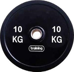 Obciążenie olimpijskie bumperowe 10kg Training ShowRoom / Tanie RATY - 2847155854
