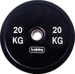 Obciążenie olimpijskie bumperowe 20kg Training ShowRoom / Tanie RATY - 2847155856