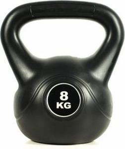 Hantla kettlebell Black 8kg Easy Fitness - 2847430879