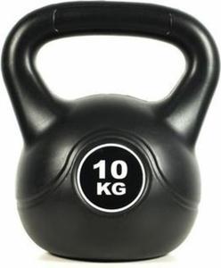 Hantla kettlebell Black 10kg Easy Fitness - 2847430880