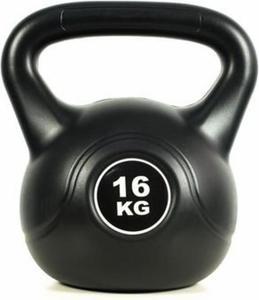 Hantla kettlebell Black 16kg Easy Fitness - 2847430883