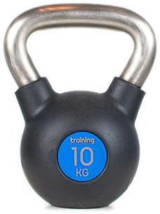 Kettlebell Gym Deluxe 10kg Training ShowRoom / Tanie RATY - 2847430899