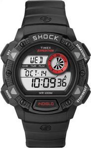 Zegarek Expedition Base Shock Timex (czarno-czerwony) / Tanie RATY - 2847430971
