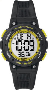 Zegarek damski Marathon by Timex (czarno-żółty) / Tanie RATY - 2848996452