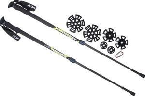 Kije trekkingowe Aria2 Foam Concept Fizan (czarne) / Tanie RATY / DOSTAWA GRATIS !!! - 2847900238