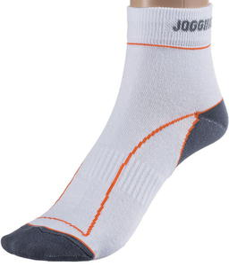 Skarpety Jogging Expansive (biało-pomarańczowe) - 2852526392