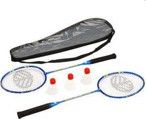 Zestaw do badmintona 2 rakietki PRO-2007 + 3 lotki ciężkie Rox - 2852220108