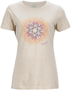 Koszulka damska Trope Tee SS Marmot (beżowa) / Tanie RATY - 2852220128