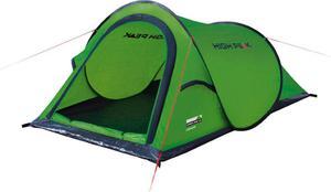 Namiot 2-osobowy samorozkładający się Campo High Peak (zielony) / Tanie RATY - 2850799202