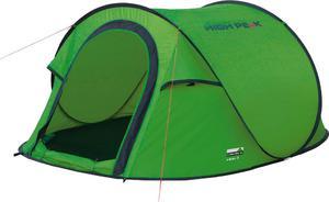 Namiot 3-osobowy samorozkładający się Vision 3 High Peak (zielony) / Tanie RATY / DOSTAWA GRATIS !!! - 2850799203