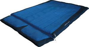 Śpiwór 2-osobowy Twin Forester 230x150cm High Peak (niebieski) / Tanie RATY / DOSTAWA GRATIS !!! - 2852657662