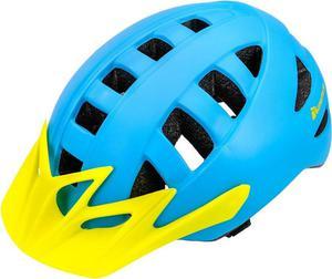 Kask rowerowy MA-5 Meteor (niebiesko-żółty) - 2850799242