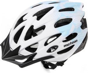 Kask rowerowy/szosowy MTB MV29 Meteor (biało-niebieski) - 2850799247