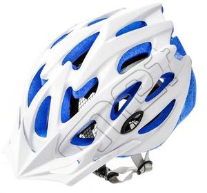 Kask rowerowy/szosowy MTB MV29 Meteor (biało-niebiesko-szary) - 2850799251