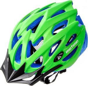 Kask rowerowy/szosowy MTB MV29 Meteor (zielono-niebieski) - 2850799252
