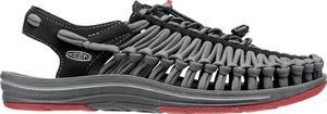 Sandały Uneek Flat Keen (czarno-czerwone) / Tanie RATY / DOSTAWA GRATIS !!! - 2852220323