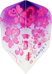 Część zamienna piórka Target Dart (różowe kwiaty) - 2853193266