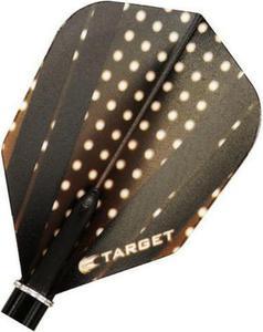Część zamienna piórka Target Dart (czarno-żółta) - 2853193268