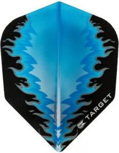Część zamienna piórka Target Dart (niebieski płomień) - 2853193271