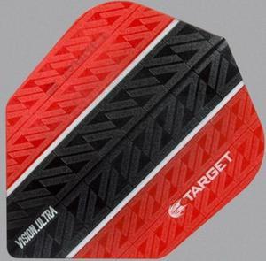 Część zamienna piórka Target Dart (czerwono-czarna) - 2853193281