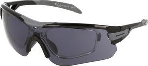 Okulary sportowe przeciwsłoneczne SP60014 Solano (czarno-szare) / Tanie RATY - 2852220362