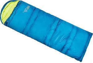 Śpiwór kołdra z kapturem Wild Tiger HOL17 SRU601 Outhorn (niebiesko-limonkowy) - 2850799373