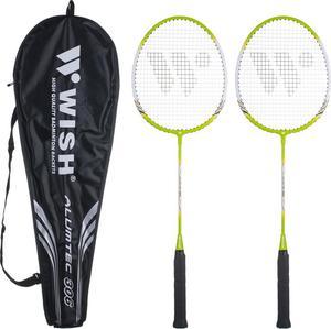 Zestaw do badmintona Wish Elite 306 (zielony) / GWARANCJA 24 MSC. - 2853313140