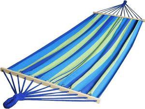 Hamak 2-osobowy Royokamp (zimne barwy) - 2853313195