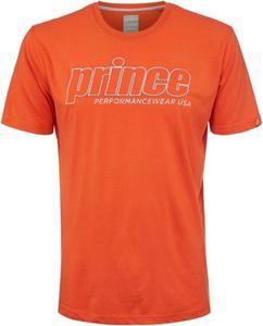 T-shirt męski Applique Crew Prince (pomarańczowy) - 2853313215
