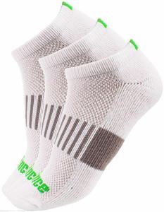 Skarpety tenisowe Dry-Cotton Low Cut Classic 3 pary Prince (białe) - 2853313222