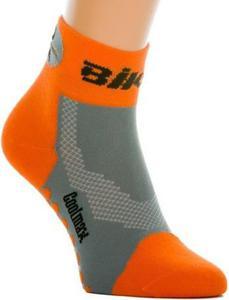 Skarpety Bike Short Expansive (pomarańczowo-szare) - 2853821516