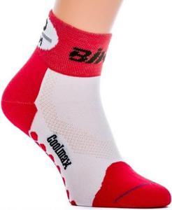 Skarpety Bike Short Expansive (czerwono-białe) - 2853667166
