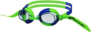 Okulary pływackie dziecięce Jellyfish (zielono-niebieskie) / GWARANCJA 12 MSC. - 2822241087