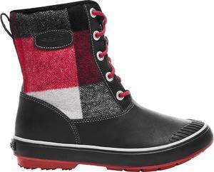 Śniegowce Elsa Boot WP Keen (czarno-czerowne) / Tanie RATY / DOSTAWA GRATIS !!! - 2858362570