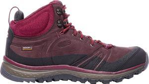 Buty trekkingowe Terradora Leather Mid WP Keen (czerwone) / Tanie RATY / DOSTAWA GRATIS !!! - 2858362574