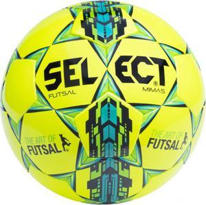 Piłka nożna futsal Mimas 4 Select (żółto-zielono-niebieska) / Tanie RATY - 2857592129