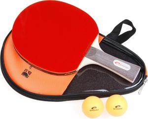 Zestaw do tenisa stołowego: rakietka + piłeczki + pokrowiec Spokey Smash Set / GWARANCJA 12 MSC. - 2822241379