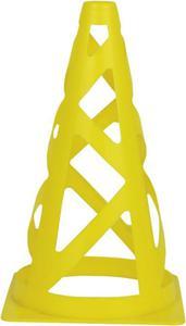 Pachołek 22,5cm z otworami Lithe Spokey (żółty) - 2822241406