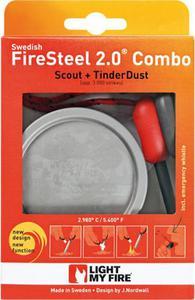 Zestaw krzesiwo Scout Red 2.0 + Tinder Combo Light My Fire (czerwony) / GWARANCJA 12 MSC. - 2822241471
