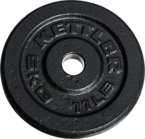Obciążenie żeliwne 5kg 30,5mm Kettler - 2822240567