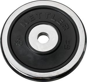 Obciążenie chromowo-gumowe 5kg 30,5mm Kettler / Tanie RATY - 2822240574