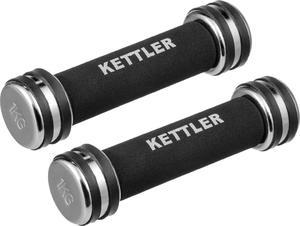 Hantelki chromowane Kettler 2x1kg - 2822240575