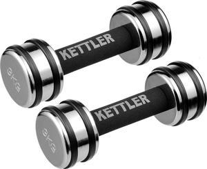 Hantelki chromowane Kettler 2x3kg / Tanie RATY - 2822240577