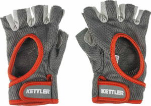 Rękawiczki treningowe damskie Kettler (szaro-pomarańczowe) - 2822240579